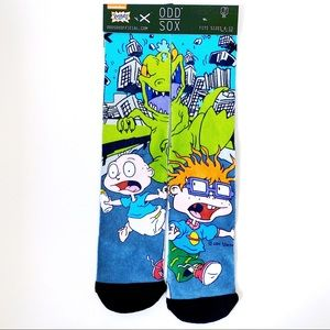 Nickelodeon Odd Sox Rugrats Reptar Crew Socks